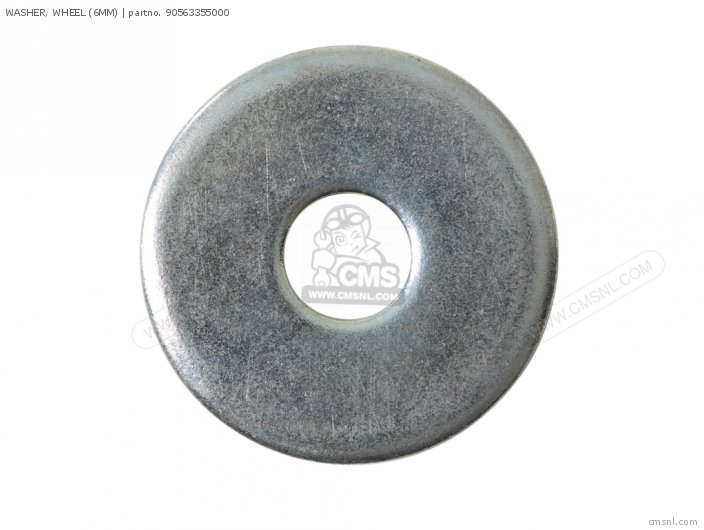 WASHER, WHEEL (6MM)