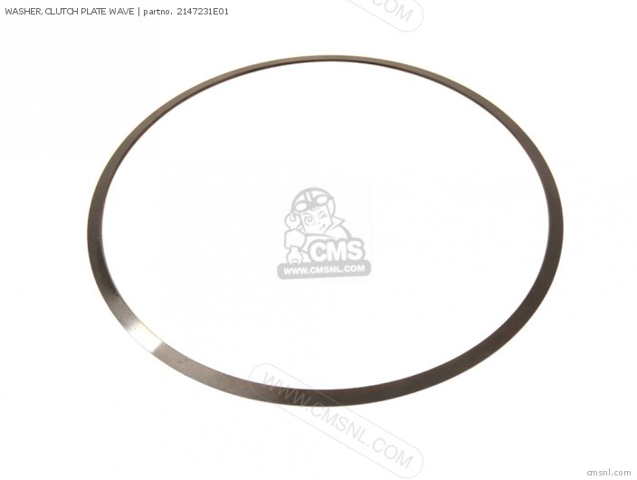 Washer, Clutch Plate Wave photo