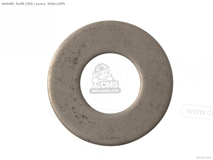 Rd400 1979 Usa Washer  Plate 353