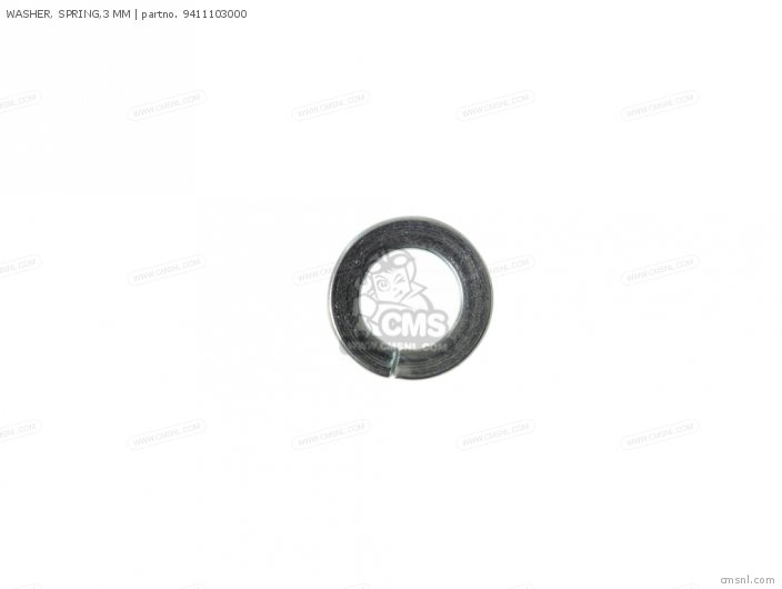 WASHER  SPRING 3 MM