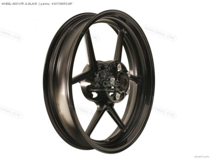 Wheel-assy, Fr, G.black photo