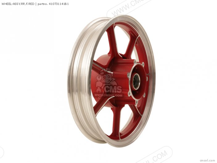 Wheel-assy, Rr, F.red photo
