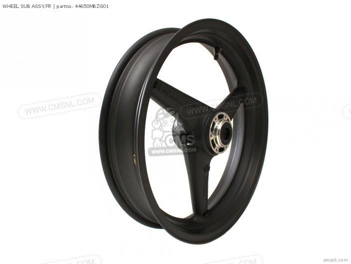 Wheel Sub Assy, Fr photo
