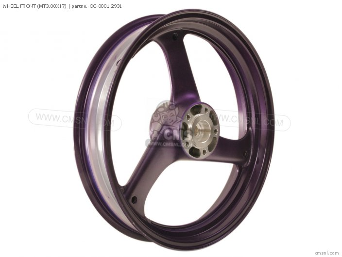 Wheel, Front (mt3.00x17) photo