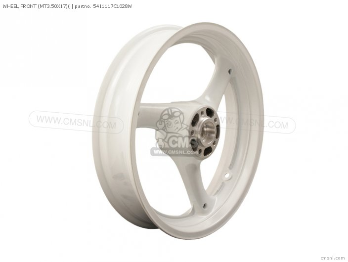 Wheel, Front (mt3.50x17)( photo