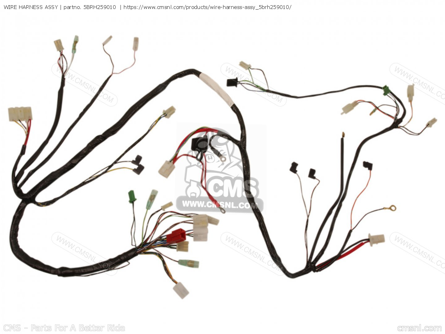 5brh259010 Wire Harness Assy Yamaha Buy The 5br H2590 10 At Cmsnl