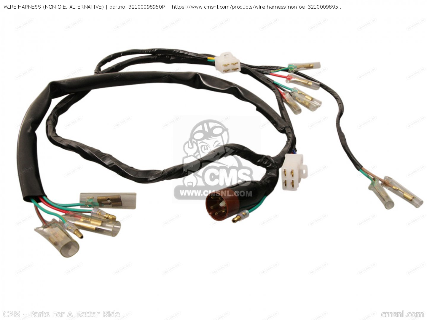 WIRE HARNESS (NON O.E. ALTERNATIVE) on