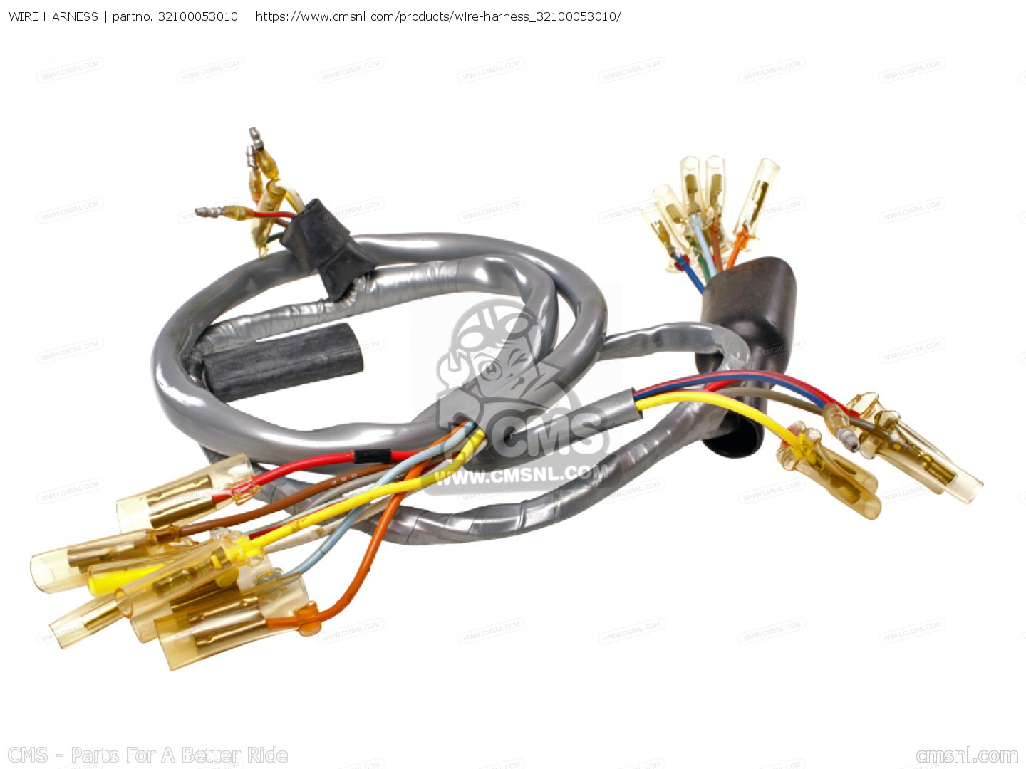 Honda Ct90 Trail K0 General Export Wire Harness Manual Guide