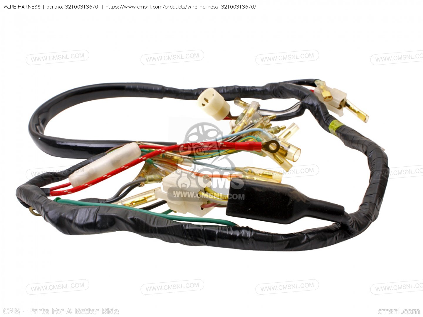 32100313670: wire harness honda - buy the 32100-313-670 at ... product wire harness