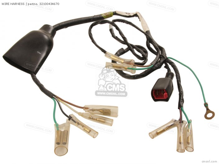 Wire Harness For Xr250 1980  A  Usa