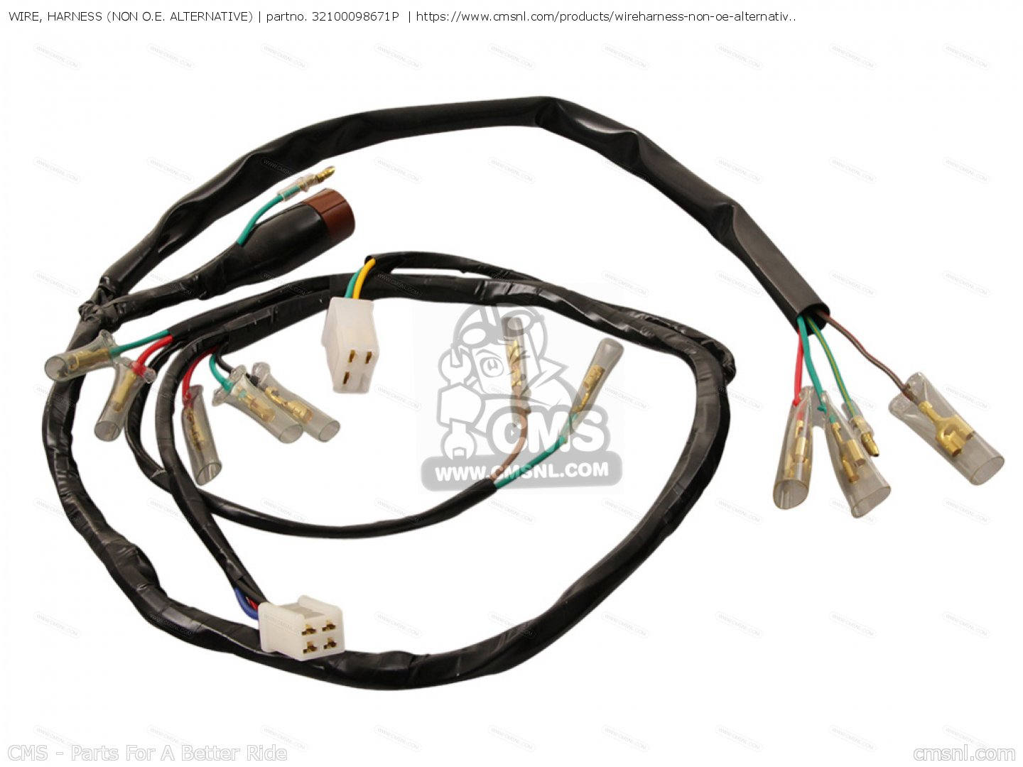 Wire Harness Non Oe Alternative For St50 Dax England Order At Wiring Photo