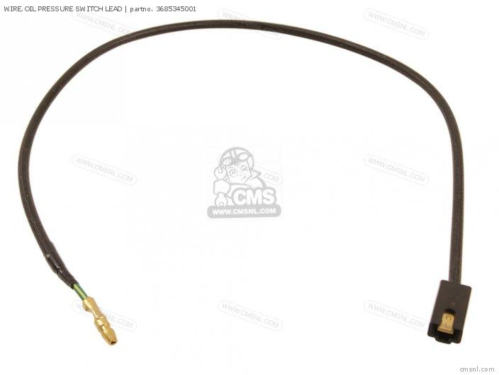 Wire, Oil Pressure Switch Lead photo