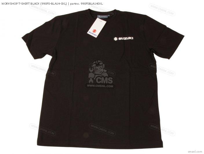 Workshop T-shirt Black (990f0-bla14-0xl) photo