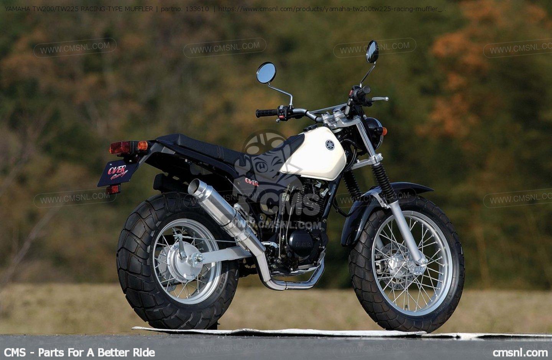 yamaha tw200. yamaha tw200/tw225 racing-type muffler exhaust systems tw200