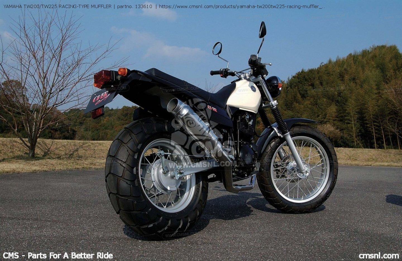Yamaha Tw 200 >> YAMAHA TW200/TW225 RACING-TYPE MUFFLER, fits EXHAUST SYSTEMS - order at CMSNL