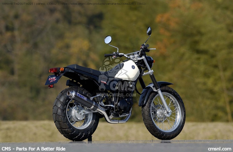 Yamaha Tw 200 >> YAMAHA TW200/TW225 for EXHAUST SYSTEMS - order at CMSNL