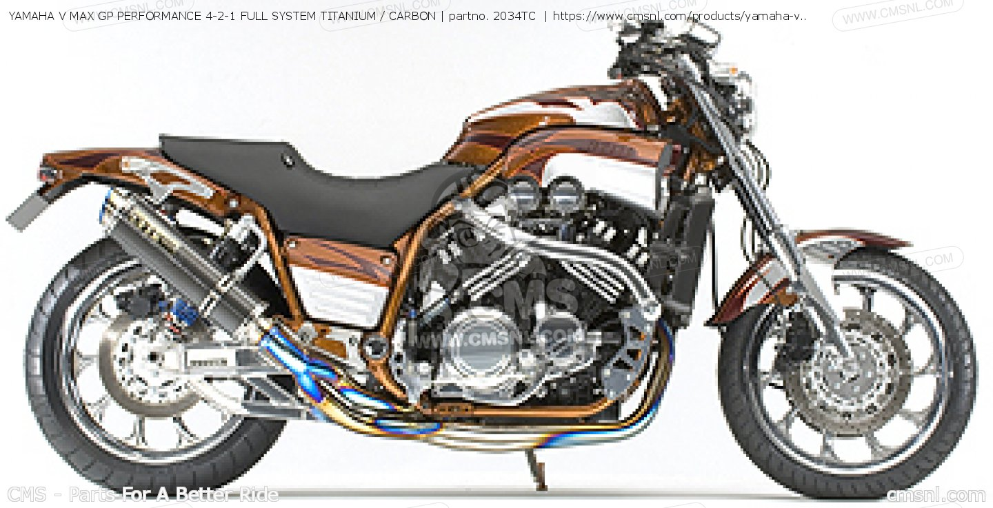 Yamaha Vmax Custom Parts Images