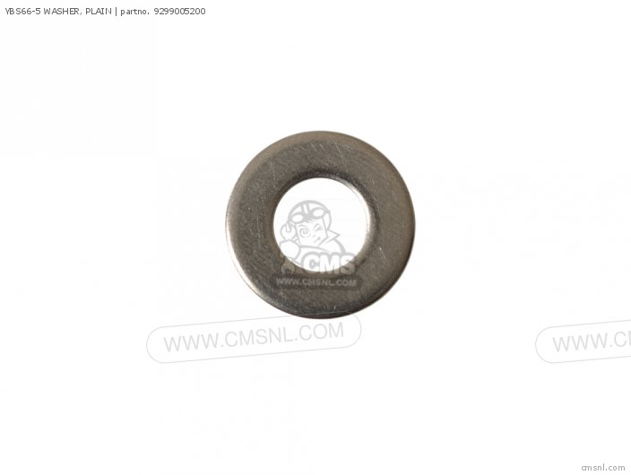 YBS66-5 WASHER  PLAIN