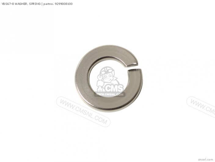 Ybs67-8 Washer, Spring photo