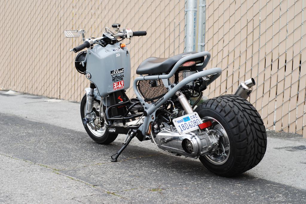 Custom Honda Ruckus For Sale >> Anyone have a honda ruckus | Rat Rod Bikes