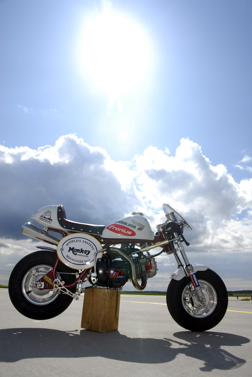 Honda Monkey #1 Z50 by GCraft   dirt dax pit monkey and little ...
